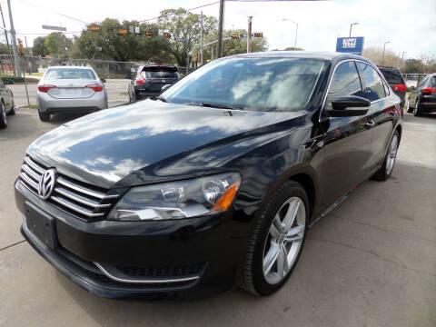 2014 Volkswagen Passat for sale at West End Motors Inc in Houston TX