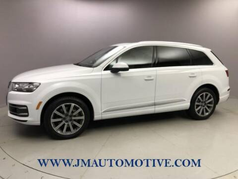 2017 Audi Q7 for sale at J & M Automotive in Naugatuck CT