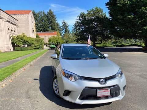 2015 Toyota Corolla for sale at EZ Deals Auto in Seattle WA