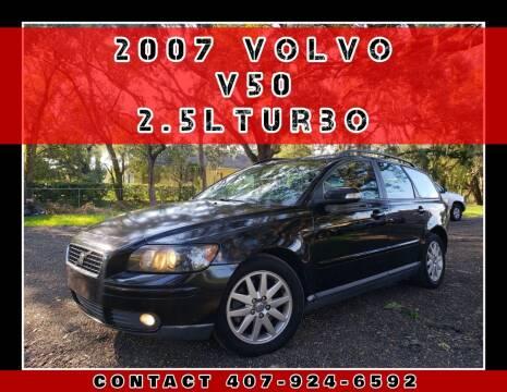 2007 Volvo V50 for sale at AFFORDABLE ONE LLC in Orlando FL