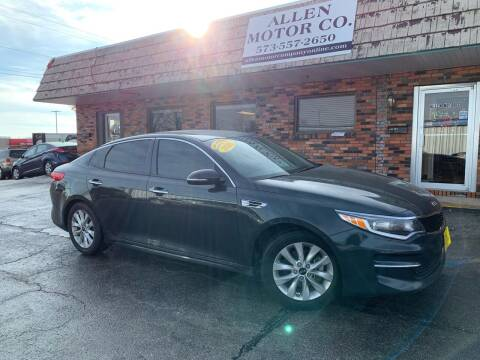 2016 Kia Optima for sale at Allen Motor Company in Eldon MO