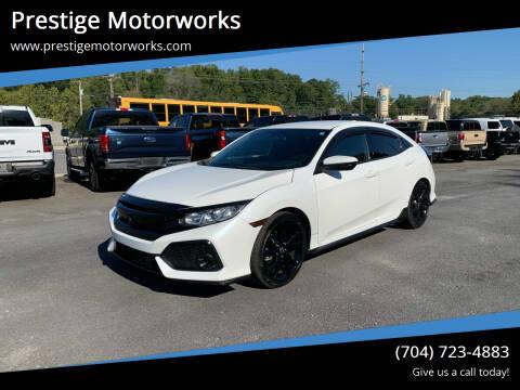 2017 Honda Civic for sale at Prestige Motorworks in Concord NC