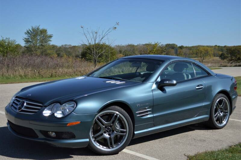 2004 Mercedes-Benz SL-Class for sale at Manfreds Import Auto in Cary IL