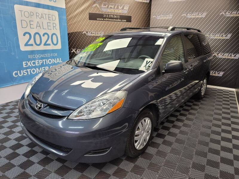 2009 Toyota Sienna for sale at X Drive Auto Sales Inc. in Dearborn Heights MI