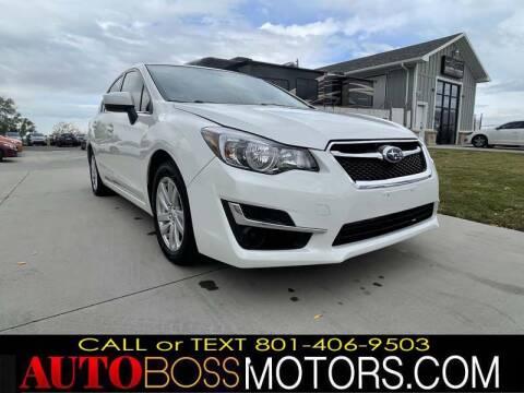 2015 Subaru Impreza for sale at Auto Boss in Woods Cross UT