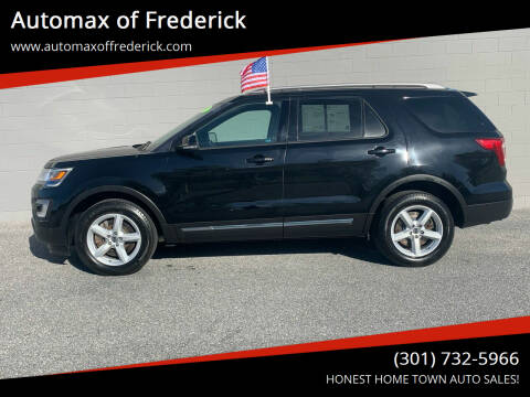 2017 Ford Explorer for sale at Automax of Frederick in Frederick MD