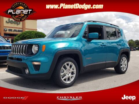 2020 Jeep Renegade for sale at PLANET DODGE CHRYSLER JEEP in Miami FL