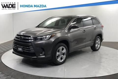 2017 Toyota Highlander for sale at Stephen Wade Pre-Owned Supercenter in Saint George UT