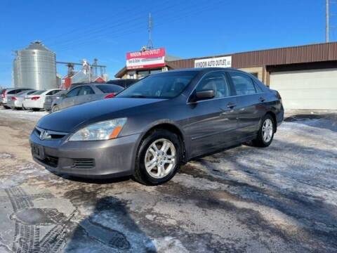 2007 Honda Accord for sale at WINDOM AUTO OUTLET LLC in Windom MN