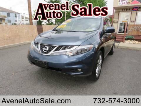 2014 Nissan Murano for sale at Avenel Auto Sales in Avenel NJ