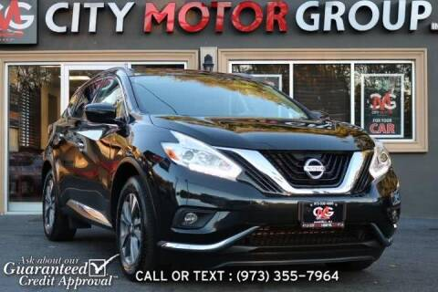 2017 Nissan Murano for sale at City Motor Group, Inc. in Wanaque NJ