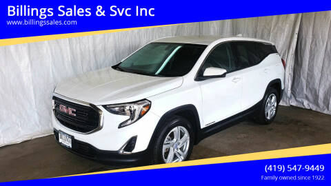 2018 GMC Terrain for sale at Billings Sales & Svc Inc in Clyde OH