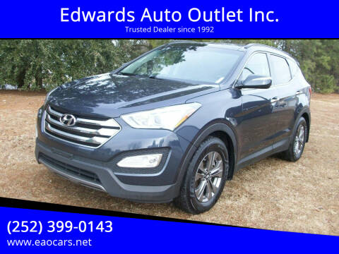 2015 Hyundai Santa Fe Sport for sale at Edwards Auto Outlet Inc. in Wilson NC