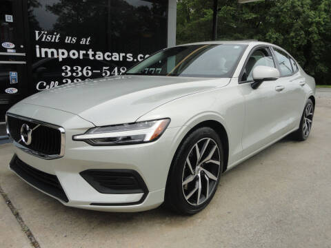 2020 Volvo S60 for sale at importacar in Madison NC