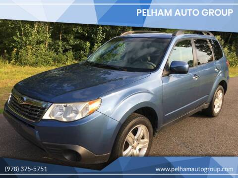 2010 Subaru Forester for sale at Pelham Auto Group in Pelham NH