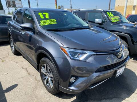2017 Toyota RAV4 for sale at CAR GENERATION CENTER, INC. in Los Angeles CA