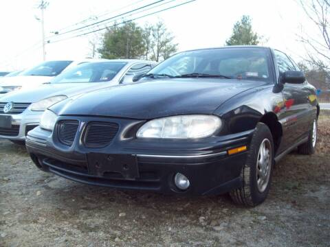 1997 Pontiac Grand Am for sale at Frank Coffey in Milford NH