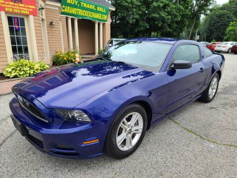2014 Ford Mustang for sale at Car and Truck Exchange, Inc. in Rowley MA