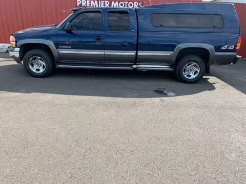 2000 GMC Sierra 2500 for sale at PREMIERMOTORS  INC. in Milton Freewater OR