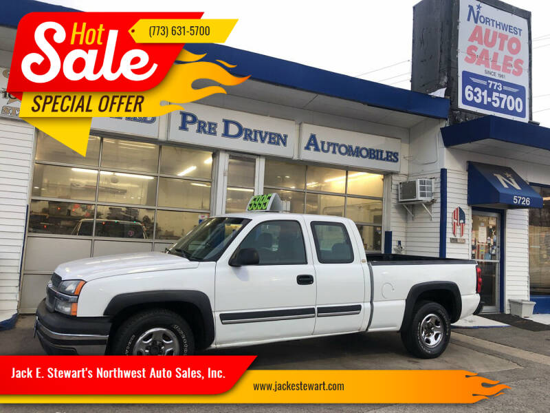 2004 Chevrolet Silverado 1500 for sale at Jack E. Stewart's Northwest Auto Sales, Inc. in Chicago IL