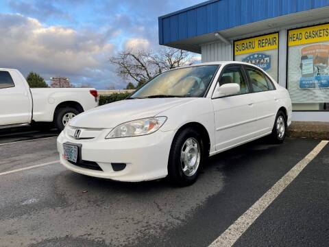 2005 Honda Civic for sale at Accolade Auto in Hillsboro OR