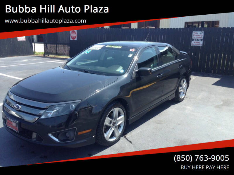 2012 Ford Fusion for sale at Bubba Hill Auto Plaza in Panama City FL