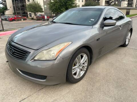 2009 Infiniti G37 Coupe for sale at Zoom ATX in Austin TX