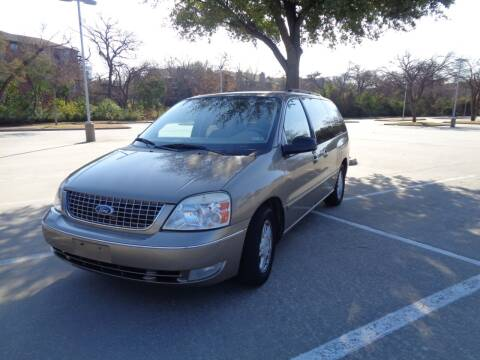 2004 Ford Freestar for sale at ACH AutoHaus in Dallas TX