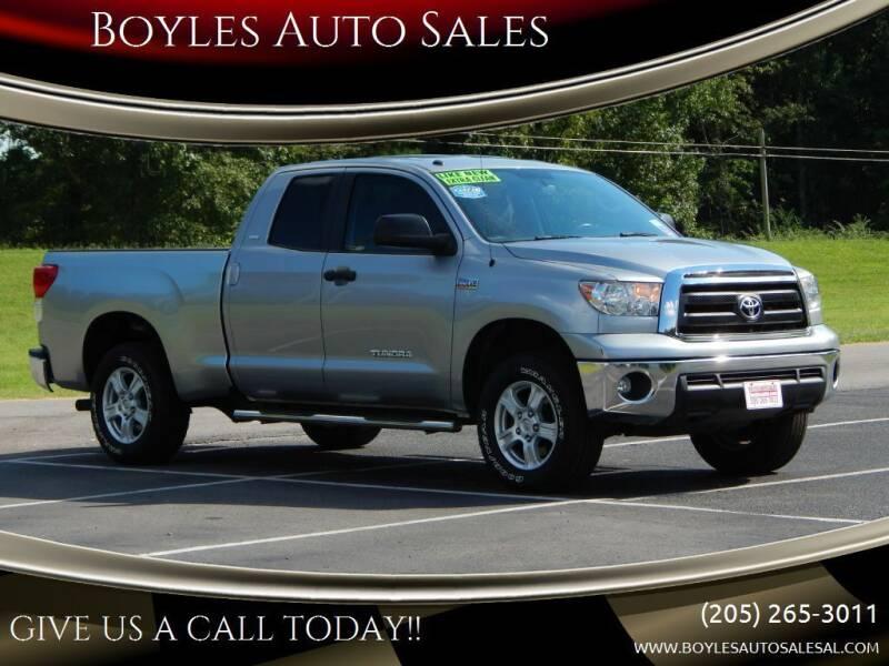 2013 Toyota Tundra for sale at Boyles Auto Sales in Jasper AL
