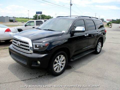 2008 Toyota Sequoia for sale at Gary Simmons Lease - Sales in Mckenzie TN