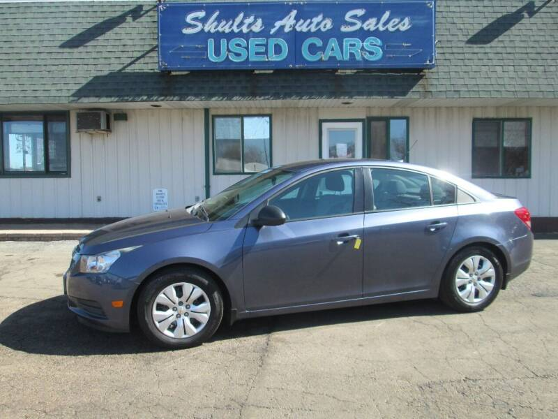 2013 Chevrolet Cruze for sale at SHULTS AUTO SALES INC. in Crystal Lake IL