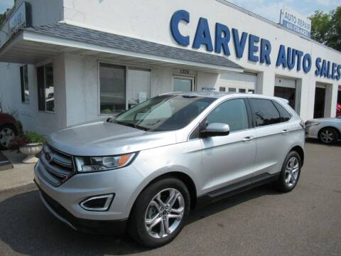 2016 Ford Edge for sale at Carver Auto Sales in Saint Paul MN