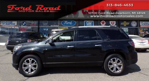 2014 GMC Acadia for sale at Ford Road Motor Sales in Dearborn MI