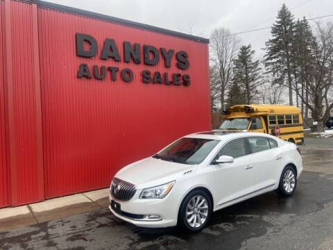 2015 Buick LaCrosse for sale at Dandy's Auto Sales in Forest Lake MN