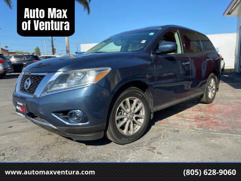 2014 Nissan Pathfinder for sale at Auto Max of Ventura in Ventura CA