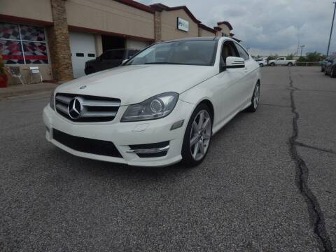 2012 Mercedes-Benz C-Class for sale at Iconic Motors of Oklahoma City, LLC in Oklahoma City OK