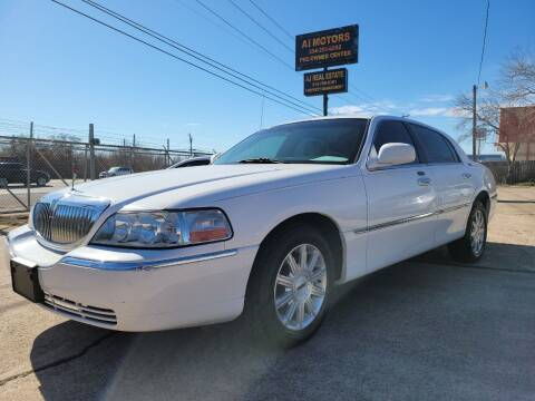 2007 Lincoln Town Car for sale at AI MOTORS LLC in Killeen TX