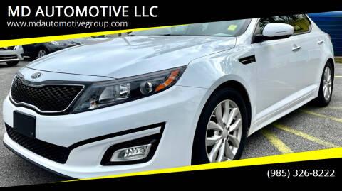 2015 Kia Optima for sale at MD AUTOMOTIVE LLC in Slidell LA