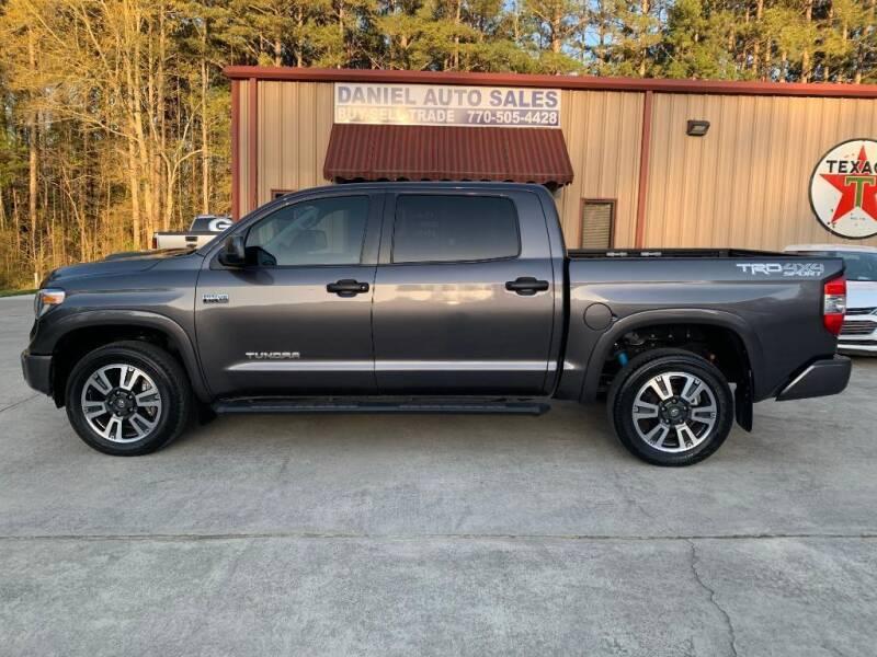 2018 Toyota Tundra for sale at Daniel Used Auto Sales in Dallas GA