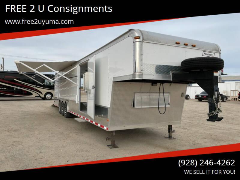 2007 Haulmark Edge for sale at FREE 2 U Consignments in Yuma AZ