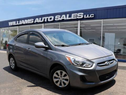 2016 Hyundai Accent for sale at Williams Auto Sales, LLC in Cookeville TN