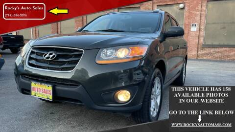 2011 Hyundai Santa Fe for sale at Rocky's Auto Sales in Worcester MA