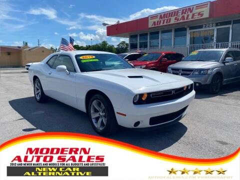 2019 Dodge Challenger for sale at Modern Auto Sales in Hollywood FL