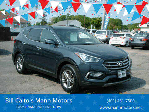 2017 Hyundai Santa Fe Sport for sale at Bill Caito's Mann Motors in Warwick RI