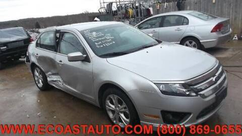 2012 Ford Fusion for sale at East Coast Auto Source Inc. in Bedford VA