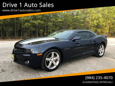 2011 Chevrolet Camaro for sale at Drive 1 Auto Sales in Wake Forest NC