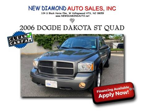 2006 Dodge Dakota for sale at New Diamond Auto Sales, INC in West Collingswood NJ