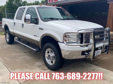 2006 Ford F-350 Super Duty for sale at Affordable Auto Sales in Cambridge MN