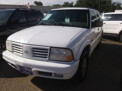 1999 Oldsmobile Bravada for sale at L & J Motors in Mandan ND