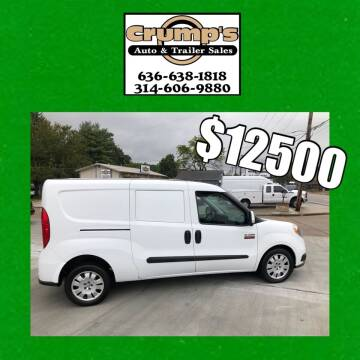 2015 RAM ProMaster City Cargo for sale at CRUMP'S AUTO & TRAILER SALES in Crystal City MO